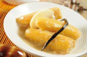 daube banane cooked